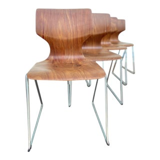 Mid 20th Century Elmer Flototto Rosewood Dining Chairs   - Set of 4 For Sale