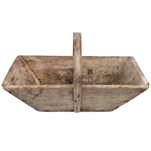 French Wood Gardening Trug - Image 1 of 5