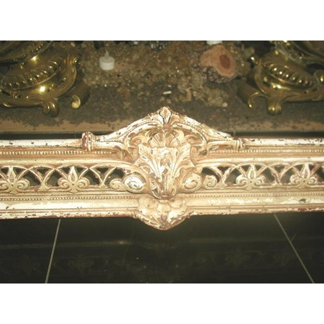 French 19th Century Antique French Fire Fender or Bed Canopy For Sale - Image 3 of 8