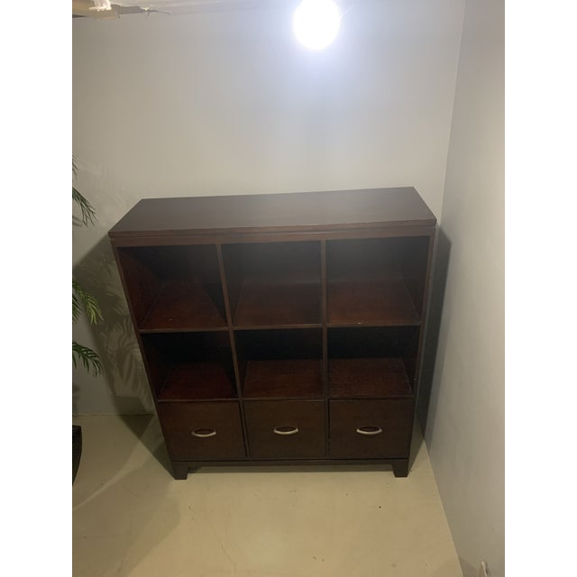 2010s Ethan Allen Cabinet with File Drawers For Sale - Image 5 of 6