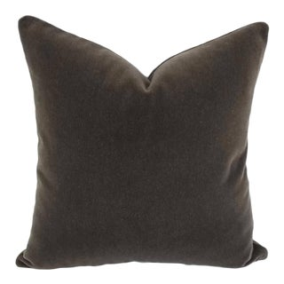 S. Harris Ankara Mohair Velvet Pillow Cover For Sale