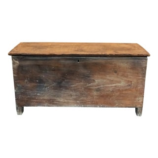 18th Century Antique Pine Chest For Sale