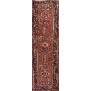 "Apadana - Persian Heriz, 3' X 14'4"" For Sale"