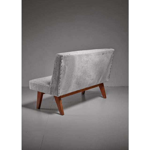 Mid-Century Modern Pierre Jeanneret Chandigarh High Court bench, 1950s For Sale - Image 3 of 4