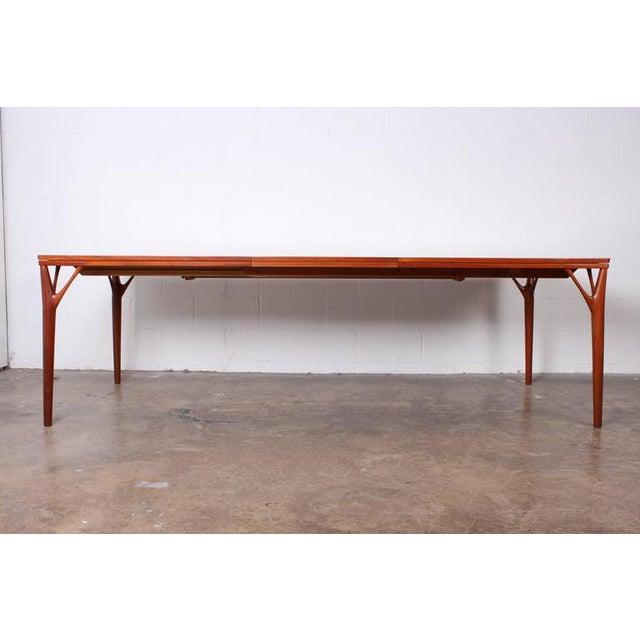 Sculptural Teak Dining Table - Image 4 of 10