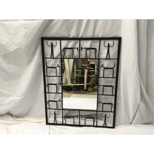 Frederick Weinberg Midcentury Modern Mirror For Sale - Image 10 of 10