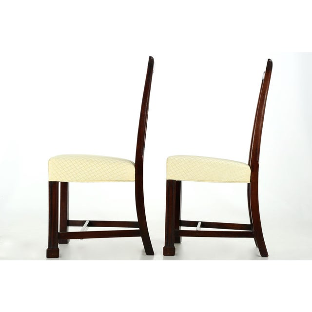 18th Century Chippendale Period Mahogany Side Chairs - a Pair - Image 4 of 10