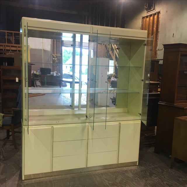 Large Vintage Wall Display Unit Milano by Stanley - Image 4 of 11