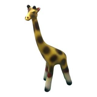 Vintage Mid Century Modern Giraffe Pottery Art For Sale
