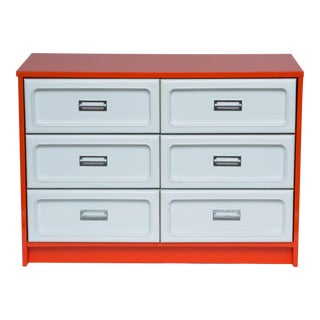 Basset Plastic Front Dresser in The Manner Of Raymond Loewy For Sale
