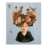"""Image of """"Pearl Earrings II"""" by Carlos Gamez de Francisco, Acrylic, Canvas, Unframed For Sale"""