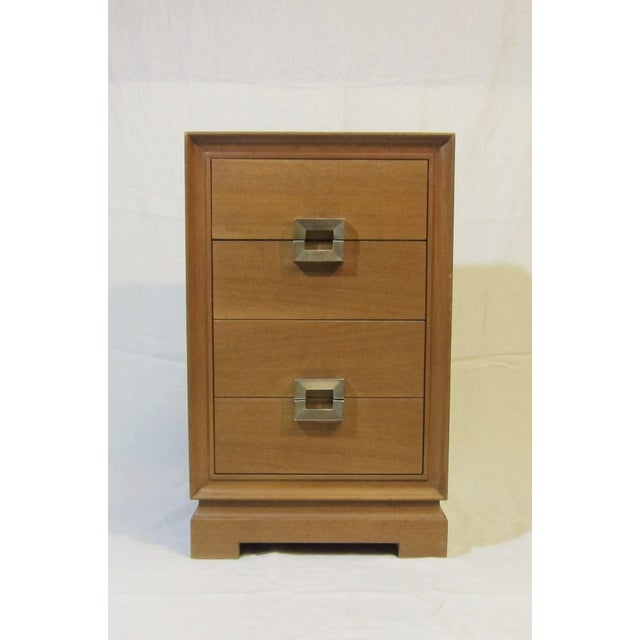 1940s Paul Frankl Style Red Lion Gentlemens Chest - Image 3 of 6