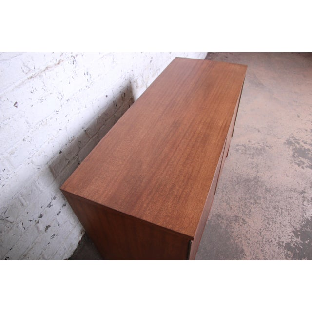1950s Paul McCobb for Calvin Irwin Collection Mahogany Sideboard Credenza, Newly Restored For Sale - Image 5 of 13