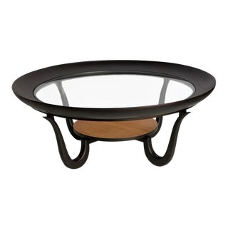 Giuseppe Scapinelli Coffee Table in Pau Marfim Wood For Sale