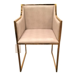 Worlds Away Annabelle Shagreen Side Chair For Sale