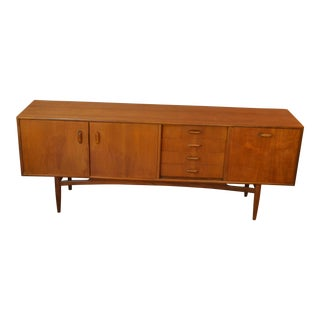 1960s Scandinavian Modern G Plan Teak Credenza For Sale