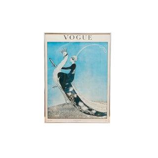 Framed 1918 Vogue Magazine Cover For Sale