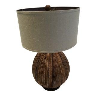 1960s Mid-Century Modern Palecek Rattan Lamp