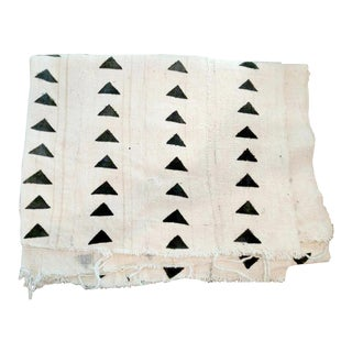 White African Mudcloth Textile