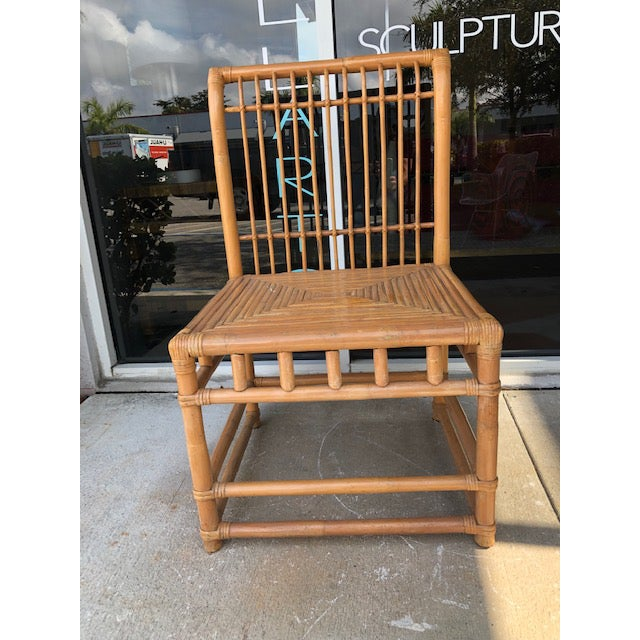 1980s Vintage Retro Boho Chic Accent Chair For Sale - Image 9 of 11