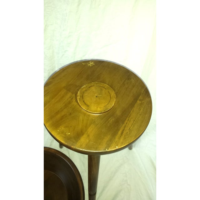 Mid-Century Modern Tripod Salad Bowl For Sale - Image 7 of 7