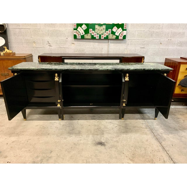 Metal 1910s Vintage French Empire Sideboards or Credenzas or Buffet For Sale - Image 7 of 13