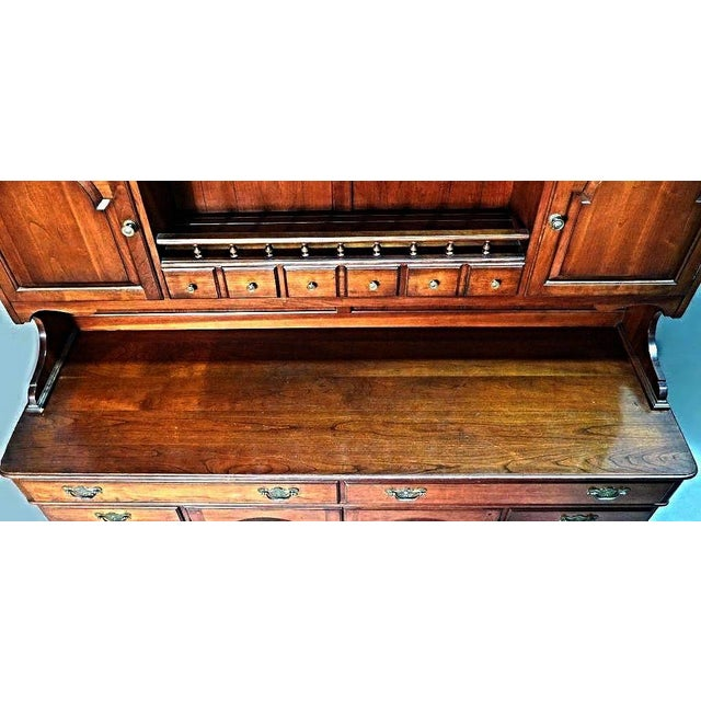 Pennsylvania House Early American Cherry Hutch For Sale In New York - Image 6 of 10