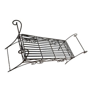 Wrought Iron Backless Garden Bench For Sale