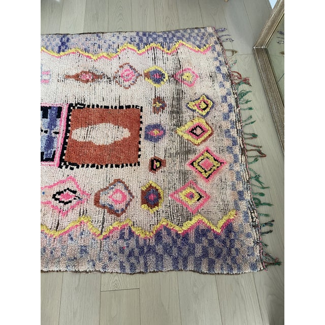 1970s 1970s Vintage Moroccan Rug For Sale - Image 5 of 11