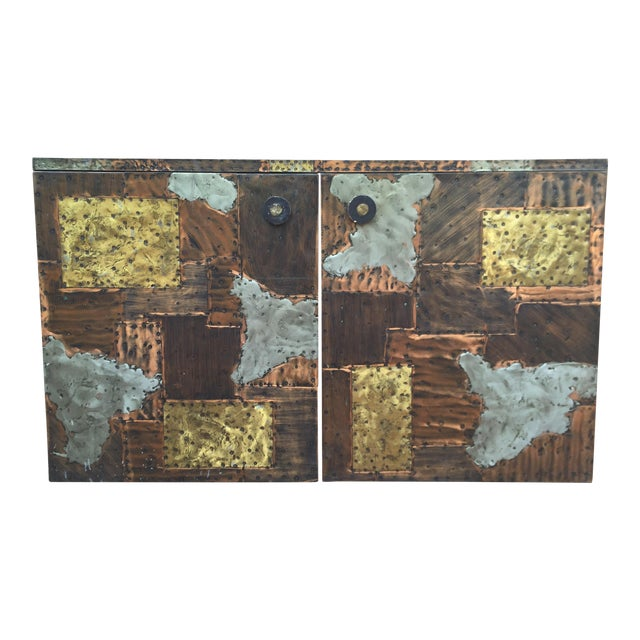 Paul Evans Patchwork Cabinet - Image 1 of 8
