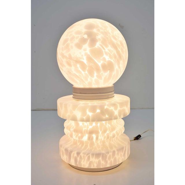 1960s 1960's Vistosi Cumulus Murano Glass Totem Lamp For Sale - Image 5 of 9