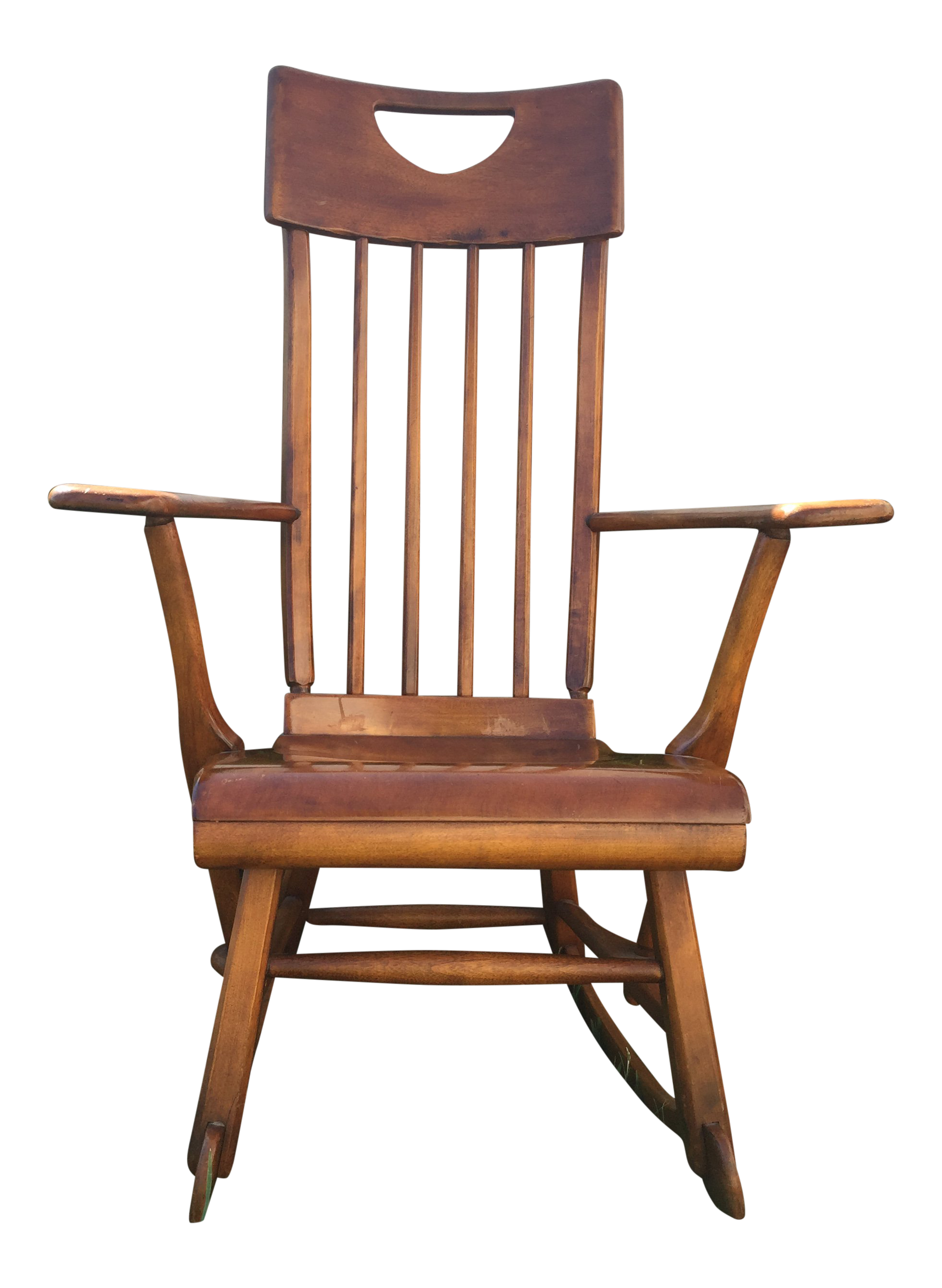 Sikes Arts And Crafts Maple Rocking Chair