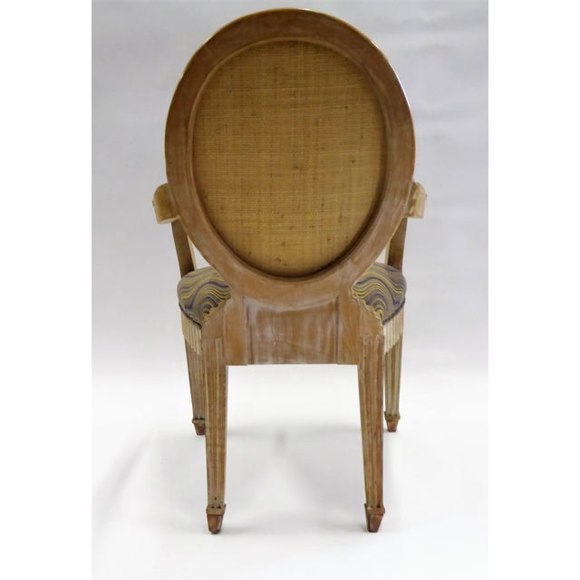 Modern Adaption of Louis XIV Roi Soleil Bergere Armchair , C. 1980s For Sale - Image 4 of 12
