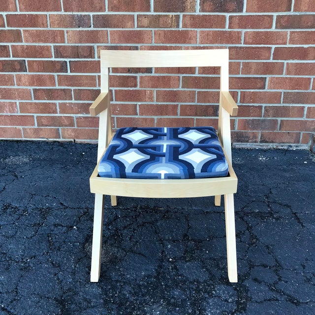 2010s Minimalist Modern Custom Side Chairs - a Pair For Sale - Image 5 of 9