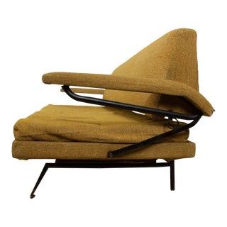 Mid Century Italian Modern Sofa Day Bed Styled Osvaldo Borsani For Sale