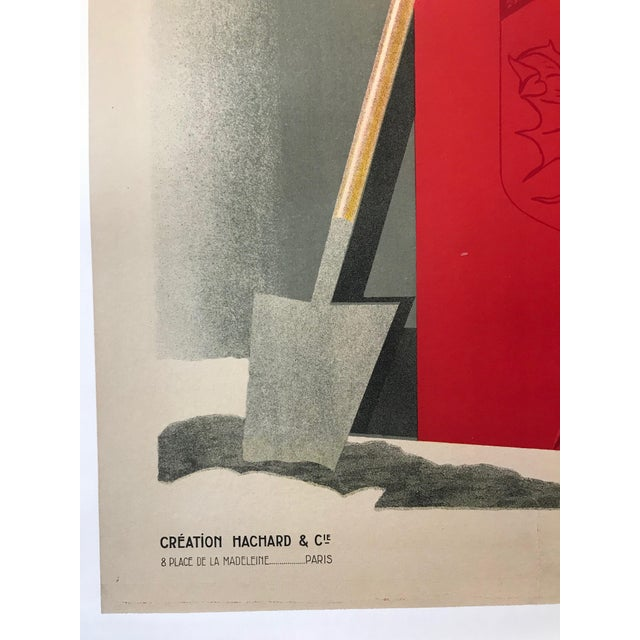 Date: 1928 Size: 47 x 64 inches Artist: Colin, Paul About The Poster: A classic Colin construction: strong colors, strong...