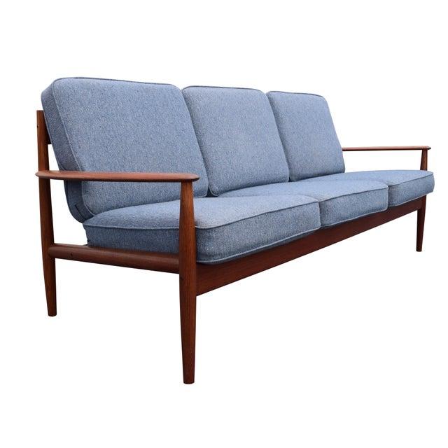654ea2c58a7a Danish Modern Vintage Danish Mid Century Modern Teak Sofa by Grete Jalk For  Sale - Image