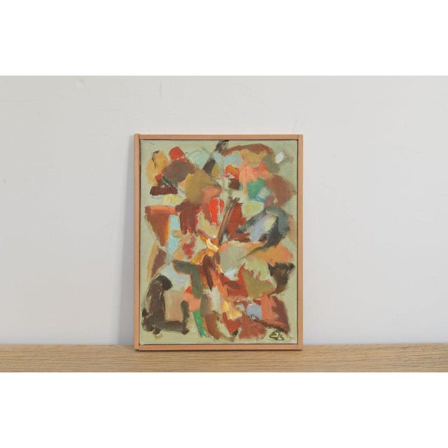 1970s Four Compositions - Paintings by Eva Beyer For Sale - Image 5 of 7