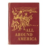 """Image of """"All Around America"""" Vintage Children's Book For Sale"""
