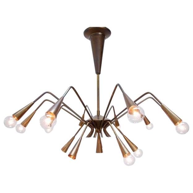 Sputnik Chandelier by Lumi For Sale