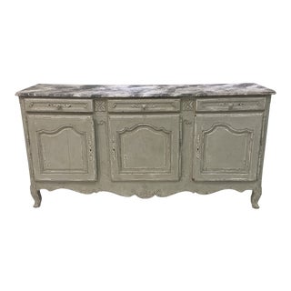 Mid 19th Century Antique French Louis XV Buffet For Sale