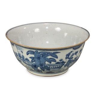 Blue & White Ceramic Bowl Preview
