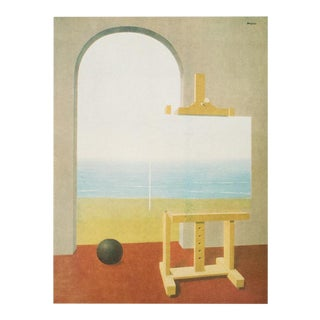"""1972 Rene Magritte, """"The Human Condition 2"""" Original Photogravure For Sale"""
