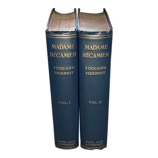 Madame Recamier Two Vols. By Edouard Herriot Published by Boni and Liveright (1926) For Sale