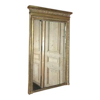 19th Century French Empire ~ Louis XVI Mirror For Sale