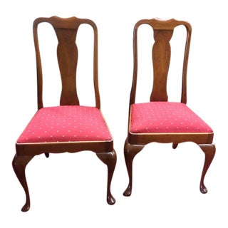 Vintage Stickley Dining Chairs - a Pair For Sale