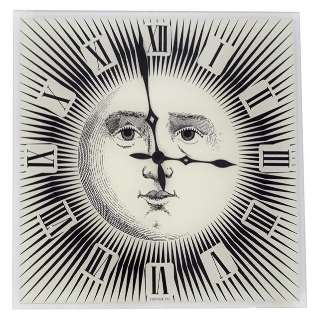 Wall Clock by Fornasetti For Sale In Palm Springs - Image 6 of 6