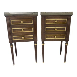 20th Century French Style End Tables - a Pair For Sale