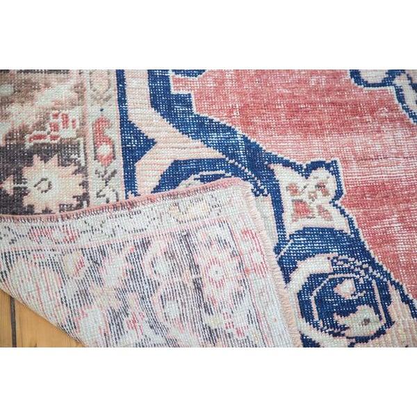 "Distressed Oushak Carpet - 6' X 9'4"" - Image 9 of 10"