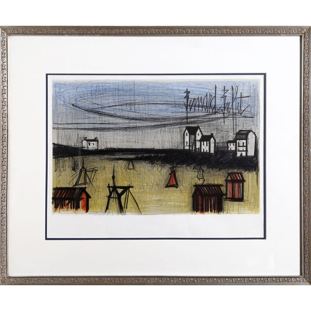 Artist: Bernard Buffet, French (1928 - 1999). Title: Small Beaches. Year: 1966. Medium: Lithograph, signed in the plate....
